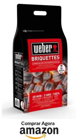 Briquetes Weber Carvão Vegetal