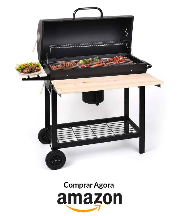 Oneconcept BBQ a Carvão