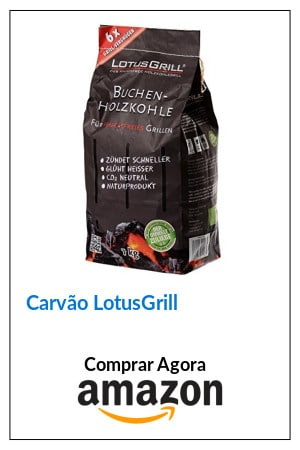 Carvão Lotusgrill